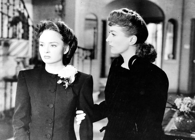 "Ann Blyth et Joan Crawford dans ""Le Roman de Mildred Pierce"" (1946)"