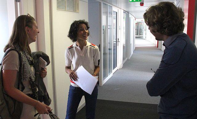 Charline Vanhoenacker, Sophia Aram et Alex Vizorek