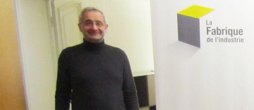 Thierry Weil, délégué général de la Fabrique de l'Industrie