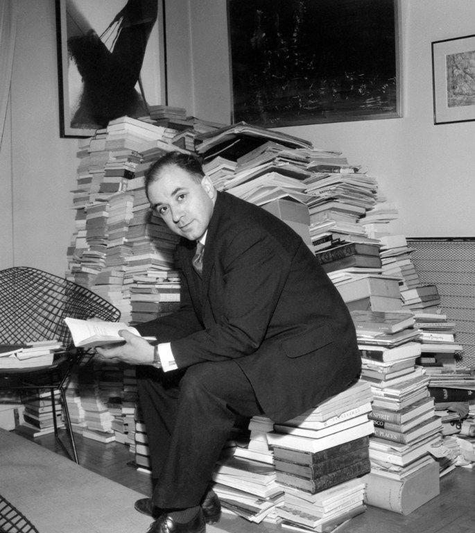 Michel Butor, en 1964.