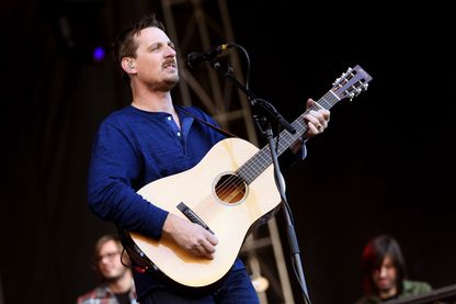 Sturgill Simpson - Calling Festival de musique à Boston City Hall Plaza le 26 Septembre 2015.