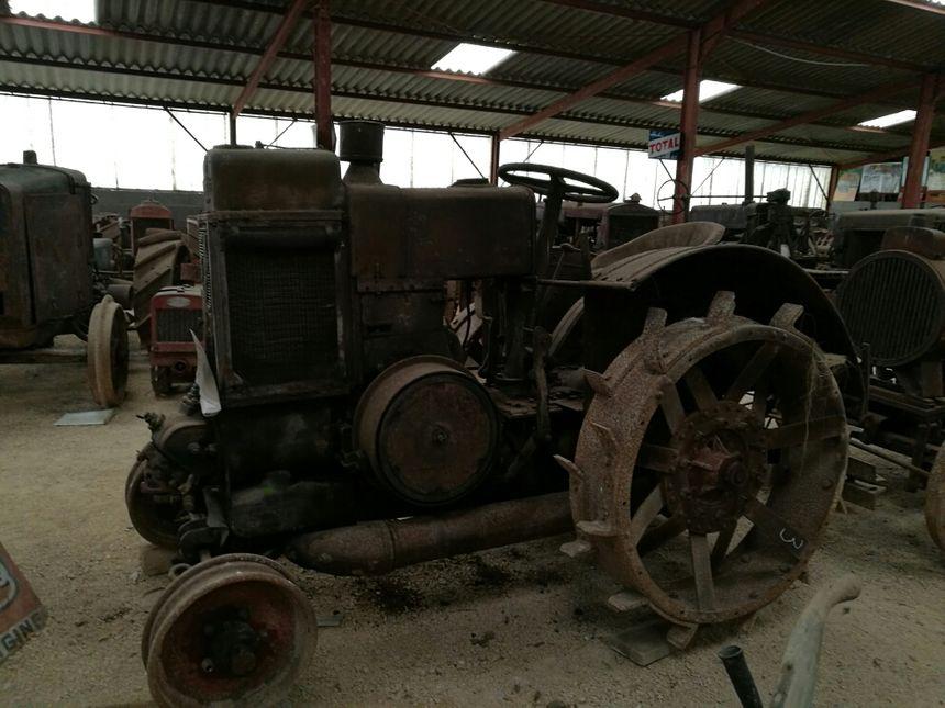 Parmi les tracteurs, des machines aux dimensions énormes!