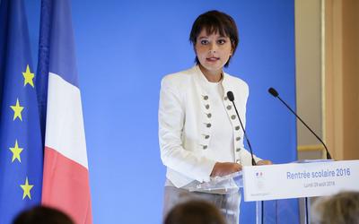 Najat Vallaud-Belkacem a fait sa conférence de presse de rentrée, ce lundi