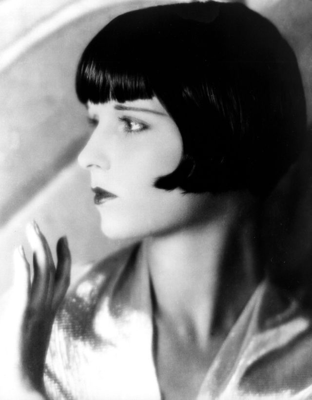 L'actrice de films muets Louise Brooks