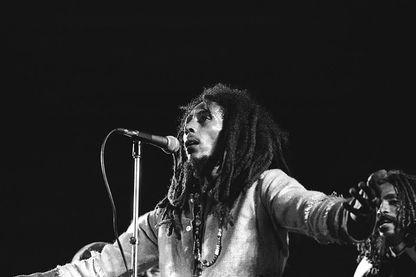 Bob Marley en concert à Kingston
