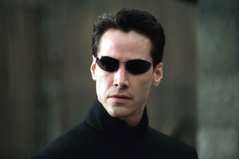 "Neo voit à travers la ""matrice"" dans ""Matrix Reloaded"""