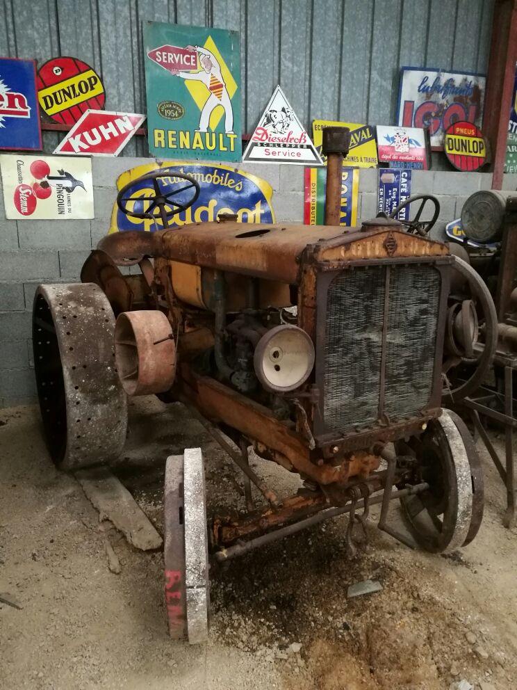 La plupart des tracteurs ne fonctionnent plus