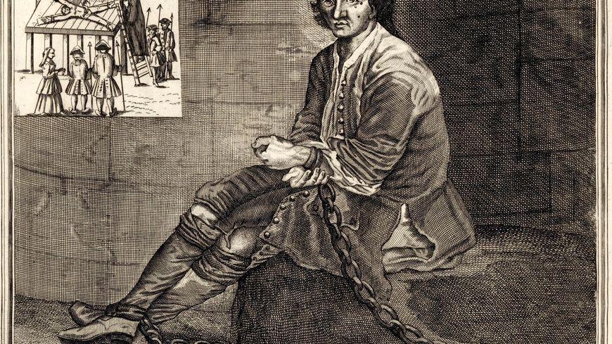 Louis Mandrin dans sa cellule à Valence