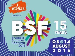 Brussels Summer festival 2016