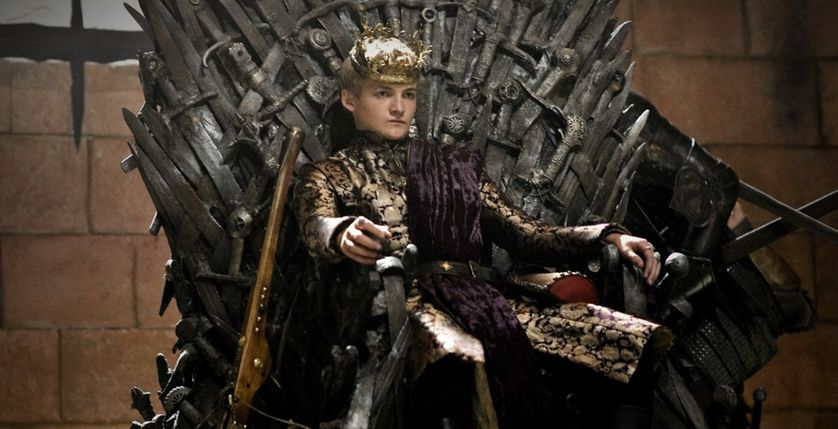 Le cruel Joffrey Baratheon de la série Game of Thrones
