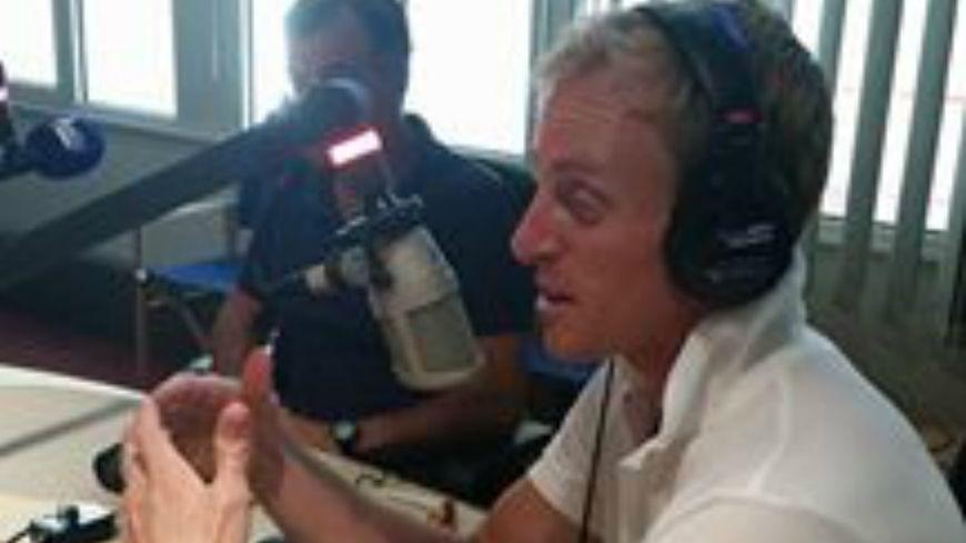 Jérémie Azou, en direct sur France Bleu Vaucluse