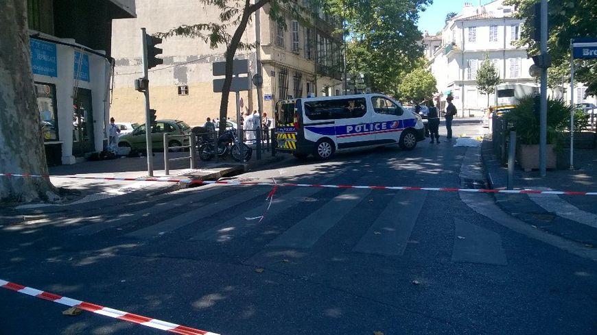 Nouveau réglement de comptes à Marseille place Pierre Brossolette dans le 4ème arrondissement.