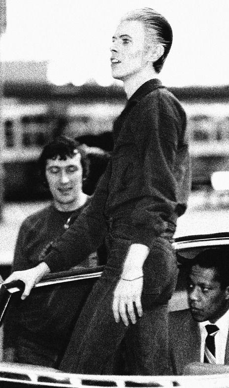 David Bowie, gare Victoria à Londres 1976