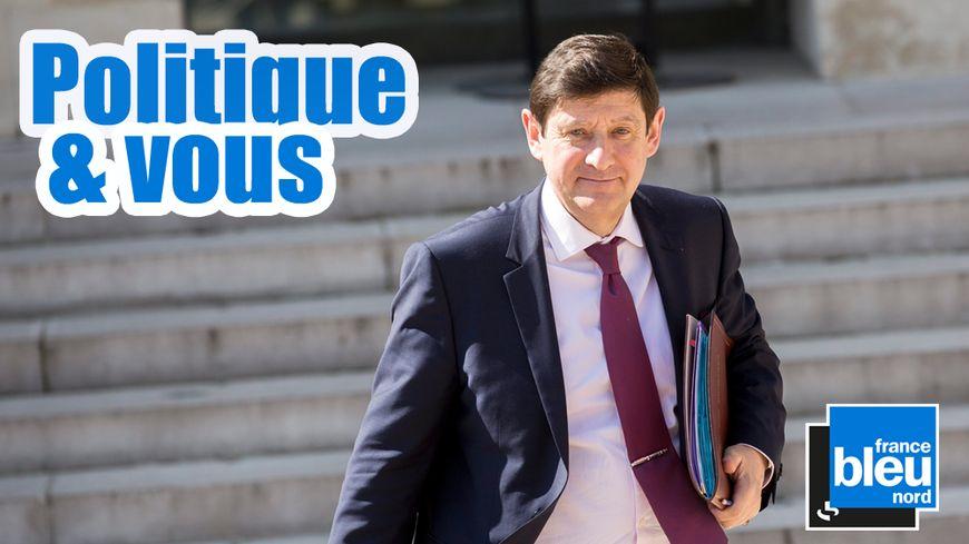 Patrick Kanner, le ministre de la Ville, de la Jeunesse et des Sports, premier invité de la nouvelle émission politique de France Bleu Nord