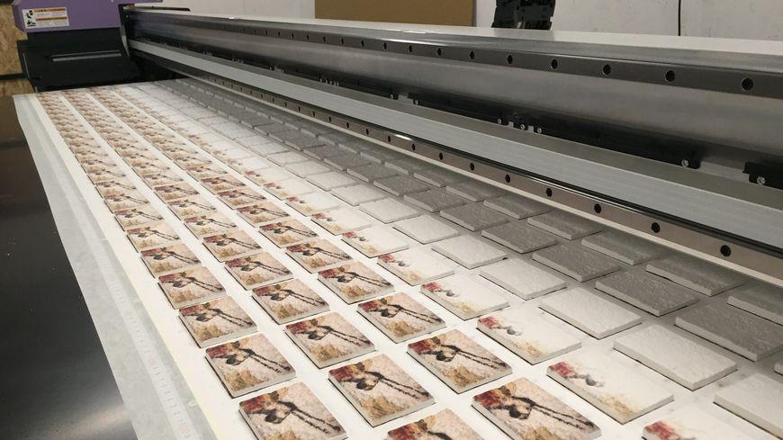 L'imprimante qui produit les souvenirs pour Lascaux 4