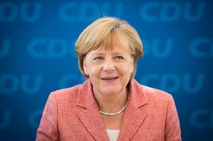 Angela Merkel, été 2016