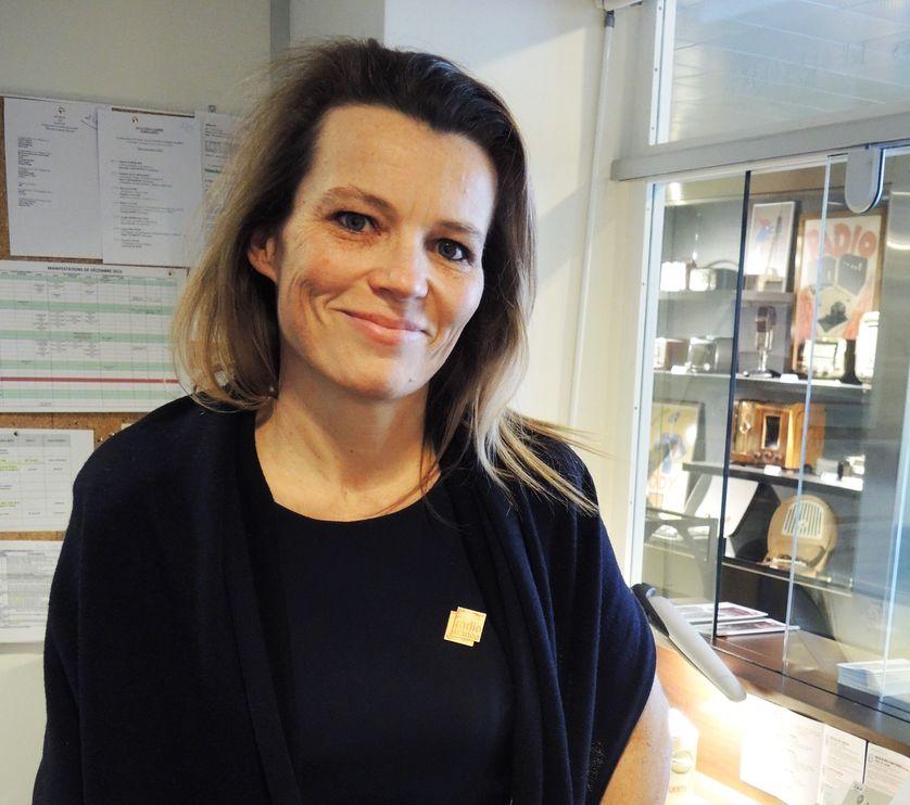 Anne-Christine Marsaud, hôtesse conférencière à Radio France