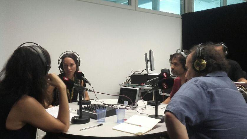 Maylis Besserie, Constance Meyer, Gonzalo de Pedro Amatria et Vincent Adatte