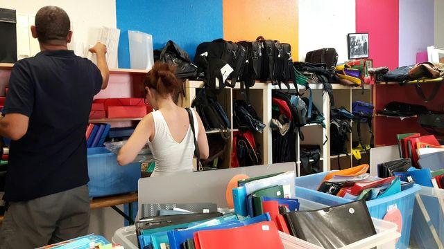 la vente de fournitures scolaires a été prise d'assaut