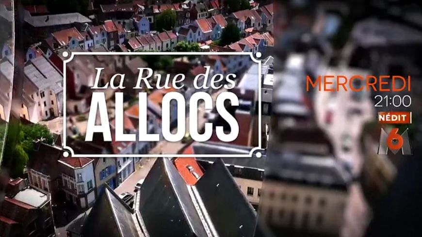 """Capture d'écran d'une bande annonce des premiers épisodes de l'émission """"La rue des allocs"""" diffusée mercredi soir sur M6"""