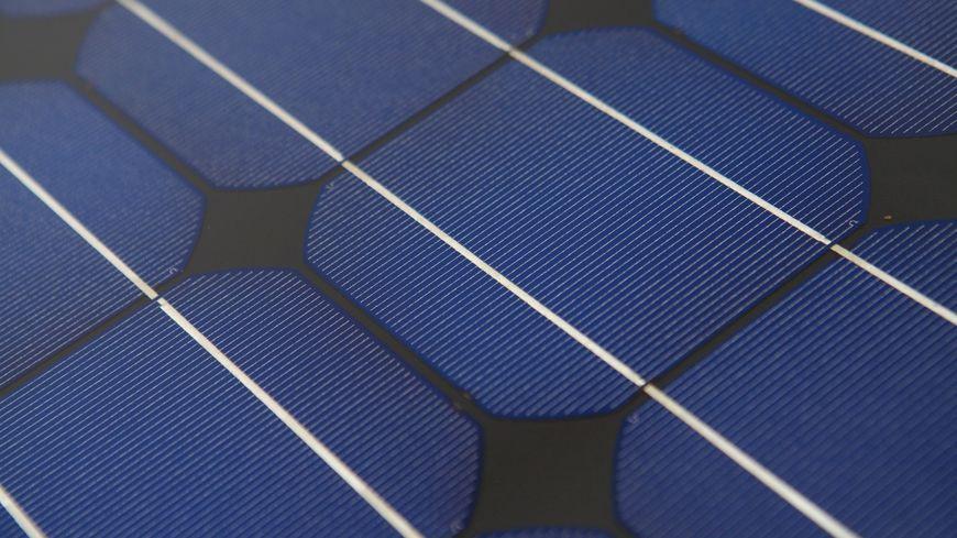 Panneaux solaires (illustration)