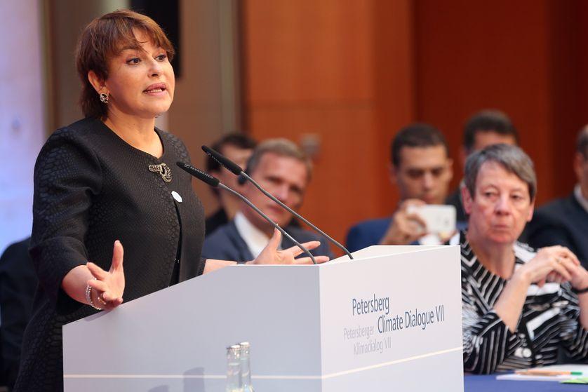 Hakima El Haite, à Berlin, le 7e Petersberg Dialogue sur le Climat, 4 juillet 2016