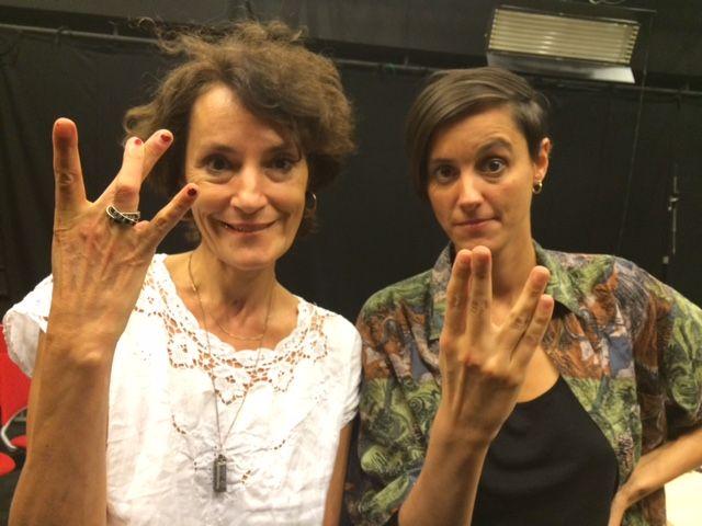 Jeanne Balibar & Elitza Gueorguieva