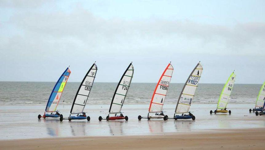 Le Championnat D Europe De Char A Voile 2016 En Normandie