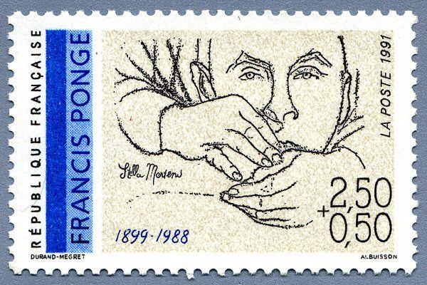 Timbre Francis Ponge