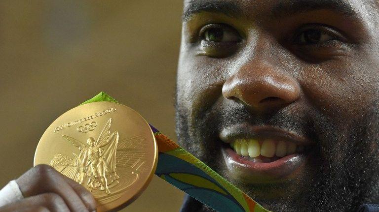 Teddy Riner a glané l'une des 10 médailles d'or pour la France