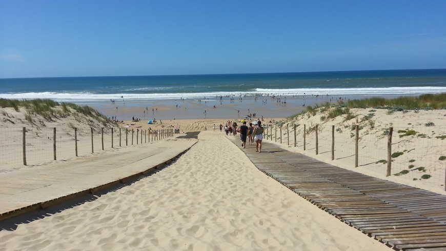 La bagarre a éclaté sur la plage