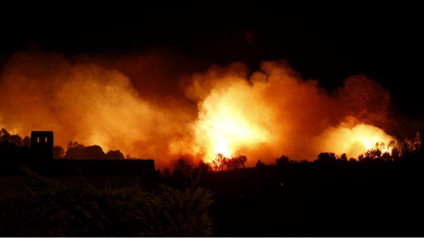 Incendie de Châteauneuf-les-Martigues le 13 juillet 2016