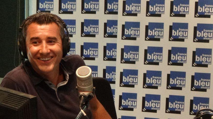 Le président du Racing Marc Keller invité de France Bleu Alsace.