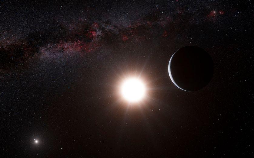 L'étoile Alpha Centauri B à proximité de la Terre.