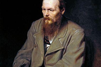 Portrait de l'écrivain Fyodor Dostoyevsky par Vasily Perov