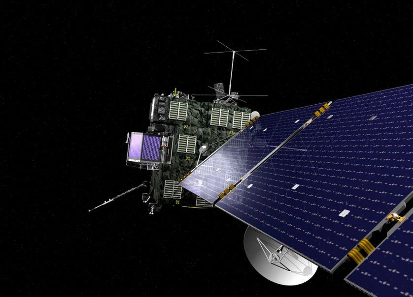 Visualisation de la sonde Rosetta