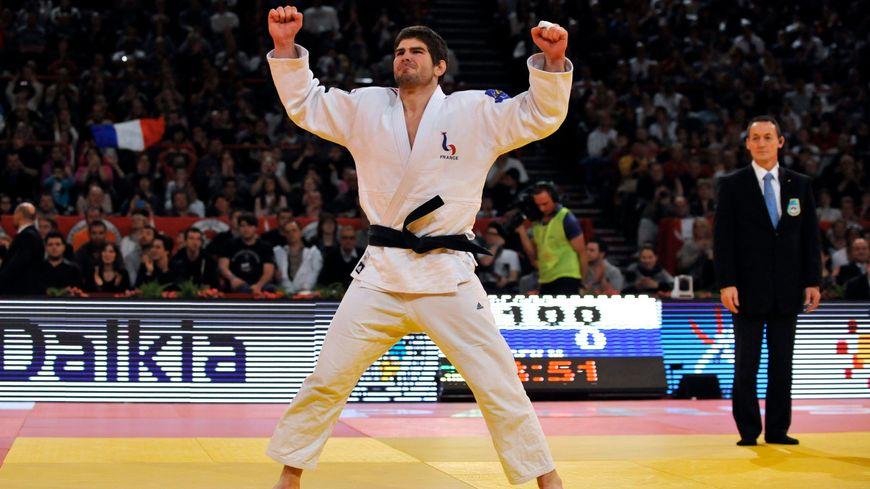 Cyrille Maret, judoka né à Dijon