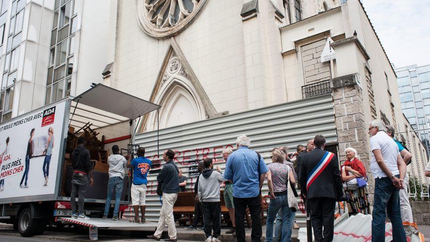 L'église Sainte-Rita évacuée mercredi matin