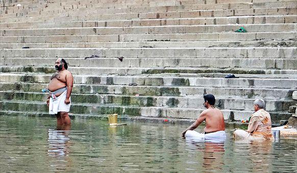 Ablutions en Inde
