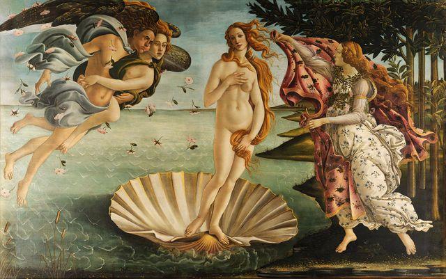 """La """"Naissance de Vénus"""" de Botticelli a inspiré Modigliani"""