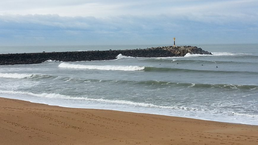 Pays Basque à proximité embouchure de l'Adour