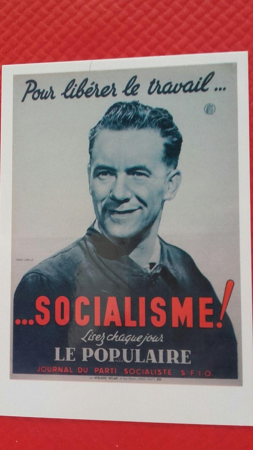 ancienne affiche du Parti Socialiste/SFIO