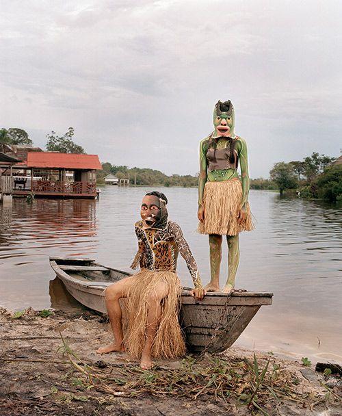 """Ipira Mama (Mère des poissons), Santo Tomás, Pérou, dans le """"Livre de la jungle"""" de Yann Gross """""""