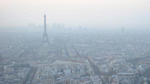 Alerte à la pollution à l'ozone sur Paris et l'Ile-de-France