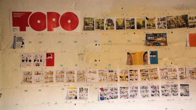 Chemin de fer du magazine TOPO