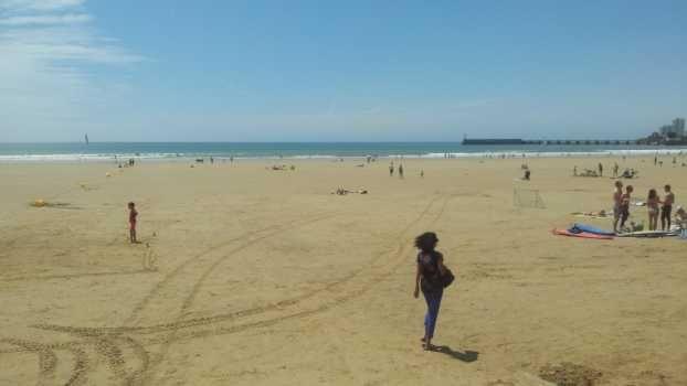 Une plage des Landes