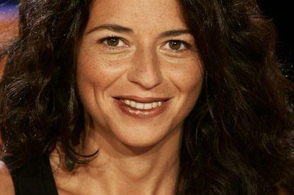 Karine Tuil au Vol De Nuit TV Show, 2005