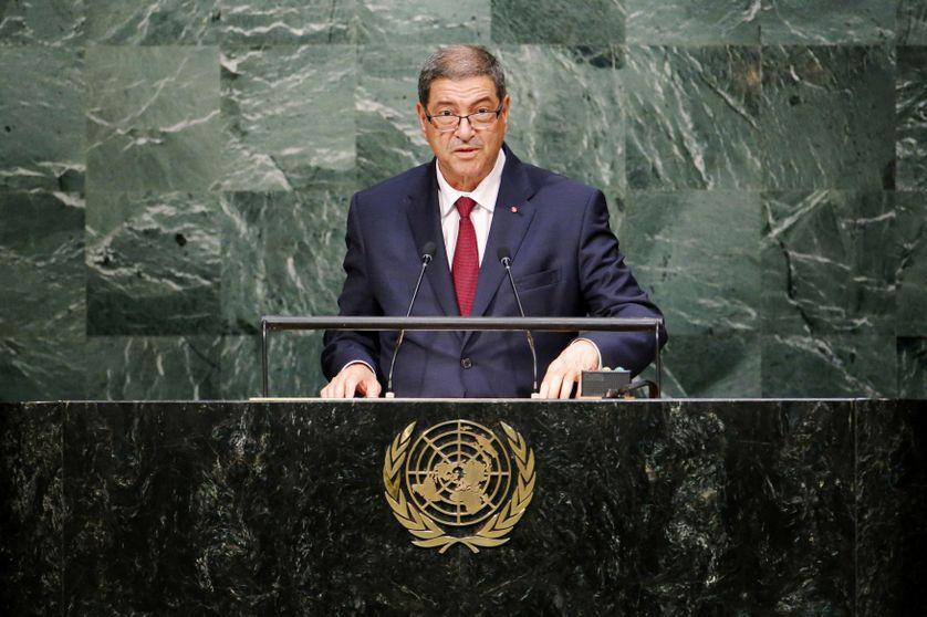 Le Premier ministre Habib Essid