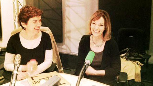 Brigitte Patient et Anne Rearick