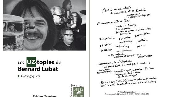 Photo - montage Les UZ-topies de Bernard Lubat MEA 603*380